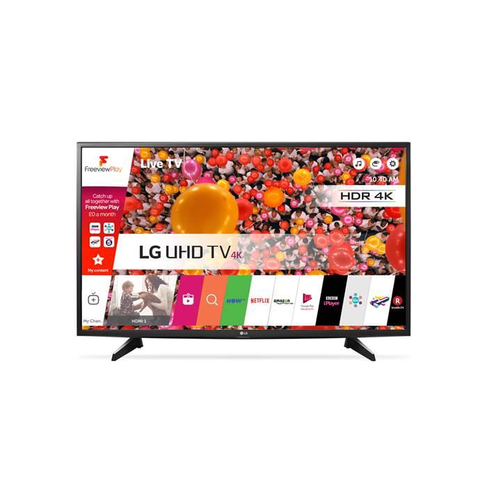 """LG 49UH610V 49"""" 4K Ultra HD Smart LED TV £299 @ CoOp Electrical"""