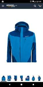 Berghaus Waterproof Arran Men's Outdoor Hooded Jacket available in Snorkel Blue/Deep Water - Medium £61.41 @ amazon