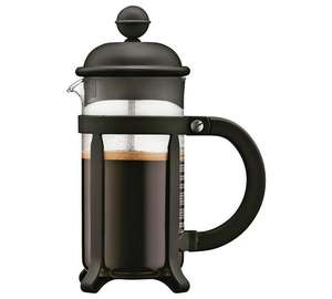 Bodum 3 Cup Cafetiere - half price - £9.99 at Argos