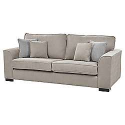 Vitorio Large 3 Seater Sofa, Taupe £199.50 (+£25 del) @ Tesco Direct
