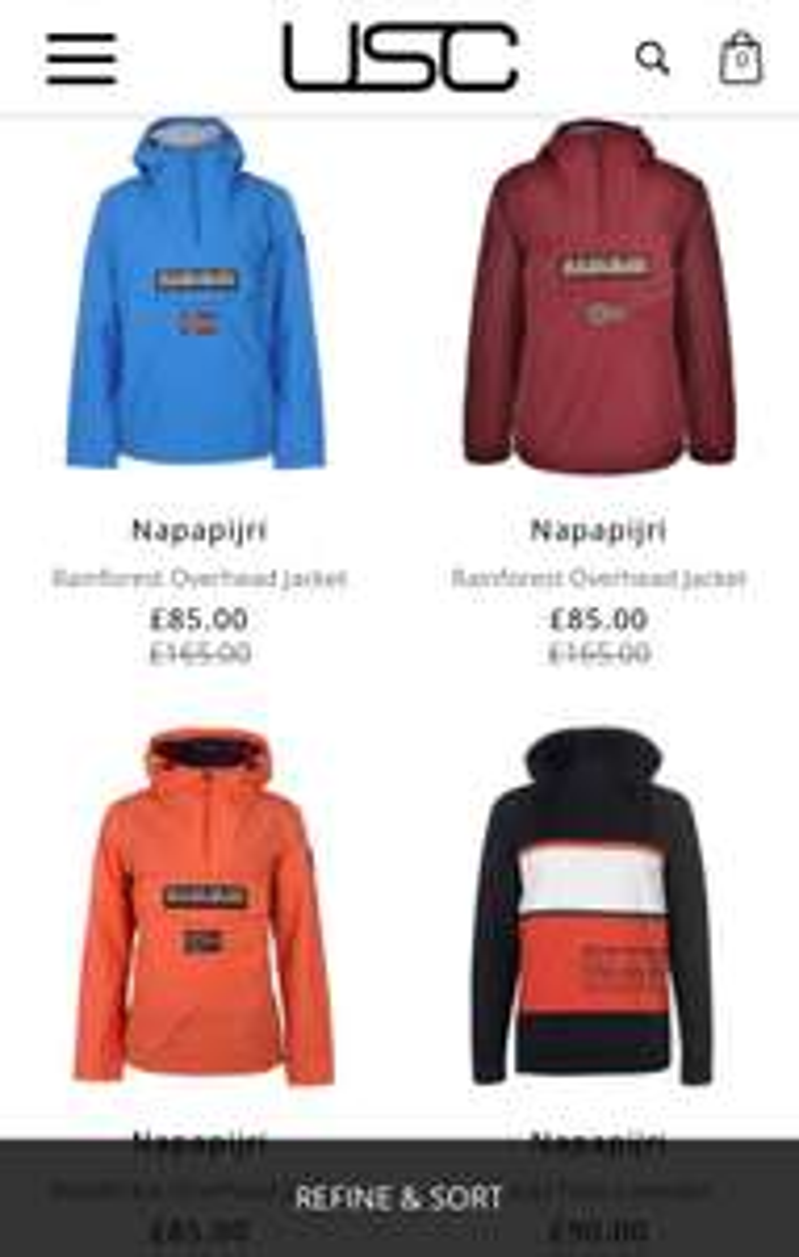 Napapijri Clothing available at USC