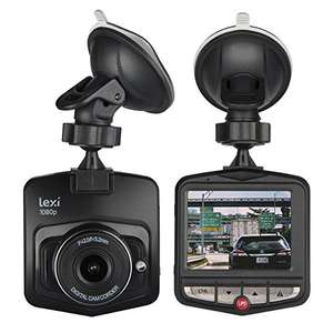 """lexi 1080P Dash Camera with 2.4"""" Display £11.67 Prime Sold by Electrolumen and Fulfilled by Amazon."""