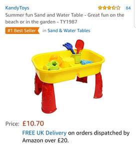 Amazon - Summer fun Sand and Water Table £10.70 Prime £15.19 Non Prime  Sold by Laeto and Fulfilled by Amazon.
