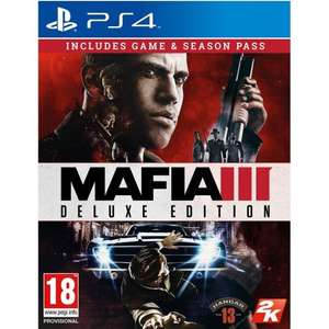 Mafia III Deluxe Edition [PS4] £7.15 // OnRush [PS4] £31.46 // The Elder Scroll Online Summerset £17.96 // The Last Of Us Remastered £14.35 @ TheGameCollection