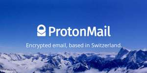 Free Secure Protonmail E-mail Account