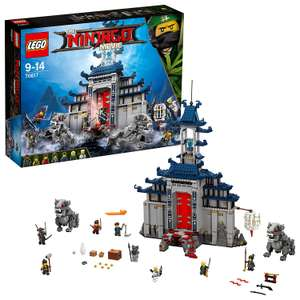LEGO Ninjago Movie 70617 Temple of The Ultimate Weapon just £46 at Amazon
