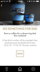 Buy One Hand Made Drink Get A Free Drink Voucher At Caffe Nero Via