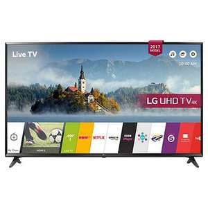 Digihome 50inch 50292UHDDLEDCNTD Smart 4K Ultra HD DLED TV with Freeview Play for £239 @ Tesco Direct (Free C&C)