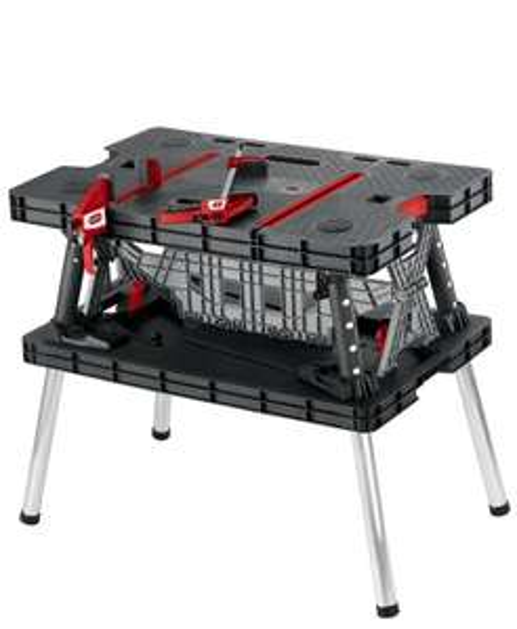 Keter 17182239 Master Pro DIY Folding Work Table £44.99 @ Amazon Prime Exclusive