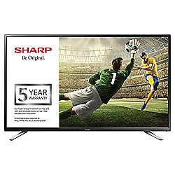Sharp 40 Inch Full HD TV with Freeview HD and 5 year guarantee. £169 delivered from Tesco Direct