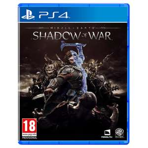 Middle-Earth: Shadow of War [PS4] - £14.99 (+ £2 C&C or £3.50 Delivery) @ John Lewis