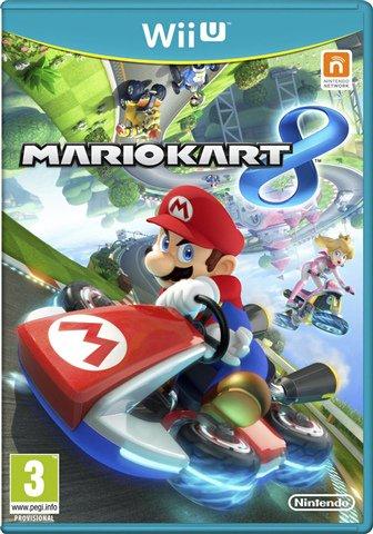 Mario Kart 8 [Wii U] £10.00 // New Super Mario Bros. U [Wii U] £10.00 // Wii U Console, 8GB Basic Pack White, Discounted £72.00 // Wii Console, Black (No Game), Discounted £20.00 @ CeX