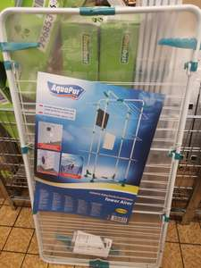 Aquapur Tower airer with 3 year warranty - £14.99 @ LIDL