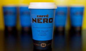 UPTO 2 FREE HOT DRINKS FROM CAFFE' NERO using their APP