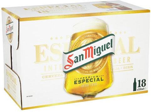 San Miguel 18 x 330ml Bottles @ ASDA Wigan - £12