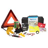 Top Tech 12 piece emergency roadside kit inc 100psi tyre inflator now £9.99 delivered or c&c @ Euro Car Parts