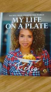 Kelis - My Life On A Plate: Recipes from around the world reduced to £2.00. @ The Works (Milton Keynes)