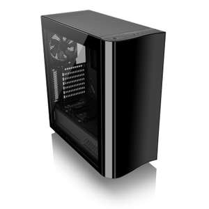 Thermaltake View 22 Tempered Glass Mid Tower PC Case, £50.46 at Scan