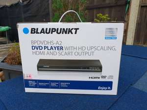 Blaupunkt DVD Player - £20 instore @ Sainsbury's