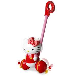 Hello Kitty Push Along only £4.80 - Free C&C @ The Works (Other Hello Kitty Bargains in OP)