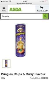 Pringles - Chips & Curry Sauce Flavour - Asda - instore & online - £1.25