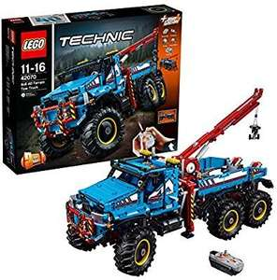 LEGO Technic 6x6 All Terrain Tow Truck Toy 42070 £131 @ Amazon