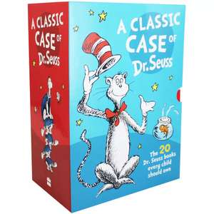 A Classic Case of Dr Seuss 20 book box set £24 @ TheWorks, free delivery