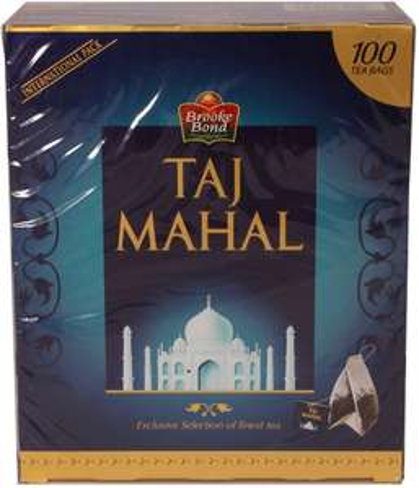 SATURDAY SPECIAL Brooke Bond Taj Mahal Tea 200g 100 Bags - £1 @ Approved Food (+£5.99 P&P)
