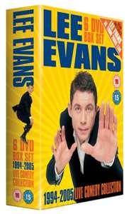 Lee Evans: 1994-2005 - Live Comedy Collection (6 X DVD) £1.99 Delivered (Used) @ Music Magpie (Also Buy 2 Get 2 Free / 4 For £3.98)