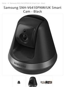 Samsung SNH-V6410PNW/UK Smart Cam - Black - £89.99 @ Baby Monitors Direct