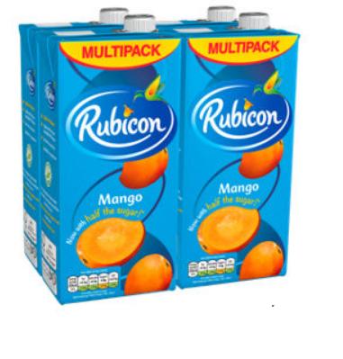 Rubicon Mango Juice Drink 4x1lt Rollback was £4.98 down to £3.50 @Asda