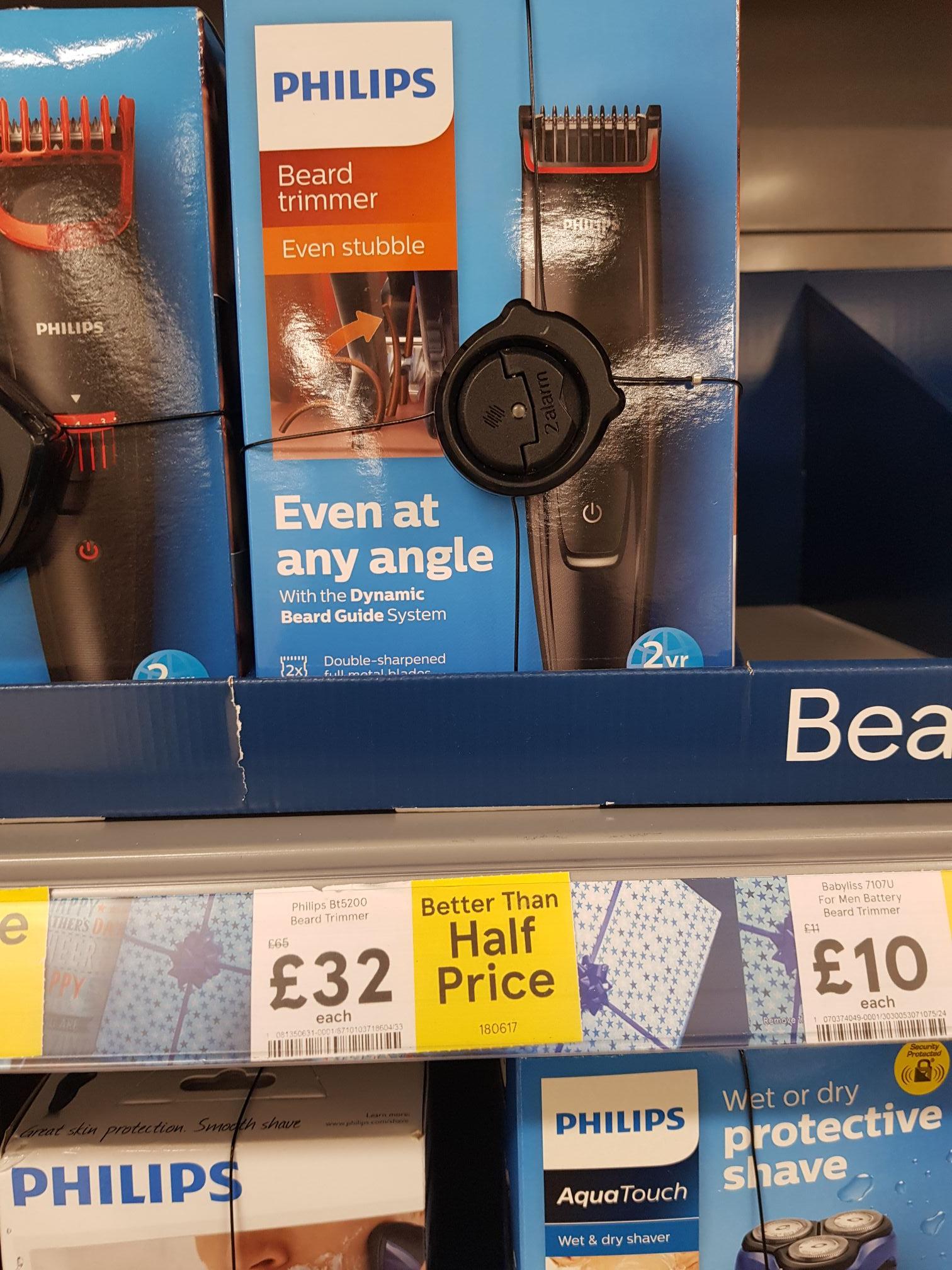 Better than half price Philips BT5200 trimmer @Tesco instore - £32