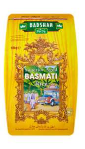 Badshah Superior Aged Basmati Rice 10kg was £18 now £10 instore at Asda Hounslow