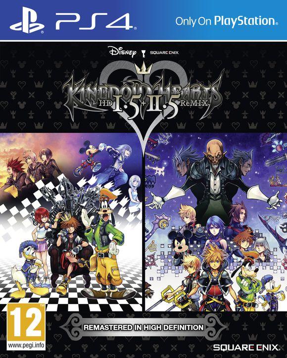 Kingdom Hearts HD 1.5 + 2.5 ReMIX PS4 - £19.50 @ Coolshop