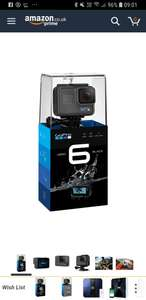 Gopro hero 6 black - £345 @ Sold by Elixir UK and Fulfilled by Amazon