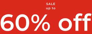 SALE up to 60% off*+ Extra 10% off* when you shop with Recognition @ House of Fraser