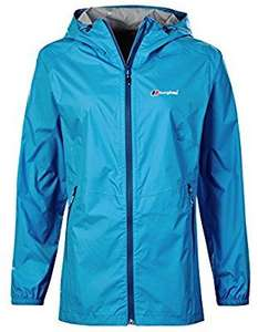 Berghaus Women's Deluge Light Waterproof Jacket size 14 £21.79 other sizes available also @ Amazon