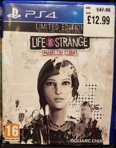 Life is Strange Before the Storm Limited Edition PS4/Xbox One £12.99 @ HMV