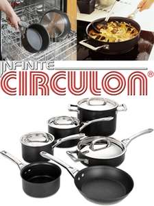 Circulon Momentum Hard  Induction Frying Pans and Sauce Pans Half price, starting from £22 @ Tesco direct with free click and collect