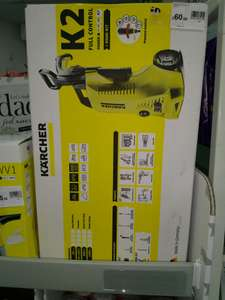 Karcher k2 with home kit pressure washer. £60 instore @ Wilko Ilford
