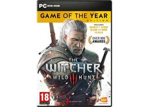 The Witcher 3 Wild Hunt GOTY PC Steam £13.99