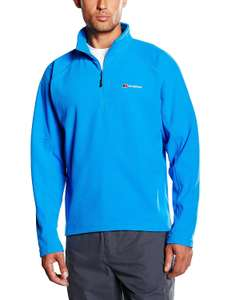 Berghaus Men's Kilnsey Micro Half Zip Fleece Jumper £13.22 Prime / £17.71 Non Prime @ Amazon