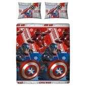 Kids' Bedding Tesco Direct Free C & C. Captain America £11 Disney Zootropolis & 5SOS £9