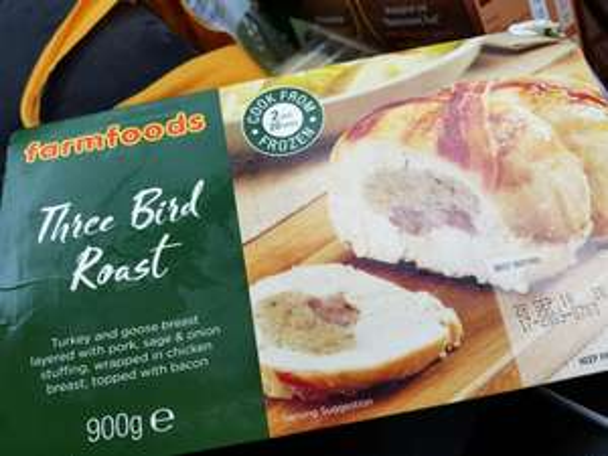 Farm foods three bird roast £1.99
