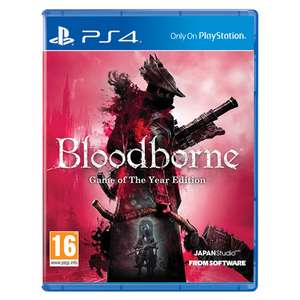 Bloodborne Game Of The Year Edition PS4 £15.99 Monster-Shop
