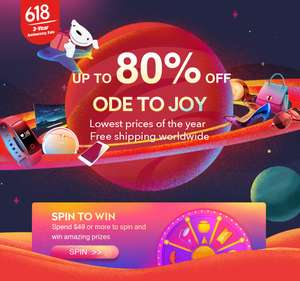 $20 off a $99 spend on the Xiaomi digital store @ Joybuy (Sale starts at 8am)