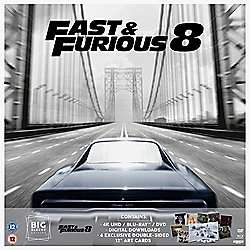 Fast And Furious 8 (Big Sleeve) 4K Ultra HD, Blu-Ray, DVD £7 @ Tesco Direct - Free C&C
