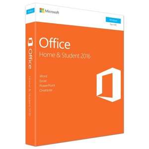 Microsoft Office Home & Student 2016 - Lifetime £89.25 @ Tesco Direct - Free C&C