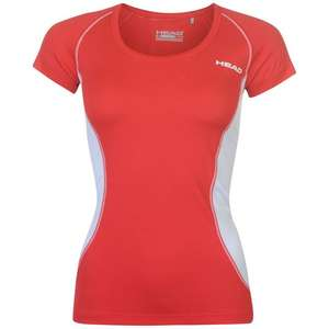 HEAD Club Tech T Shirt Ladies at SportsDirect for only £4.99 @ Sports Direct (+£4.99 P&P)