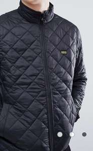 Male Barbour quilted jacket at ASOS for £59.50